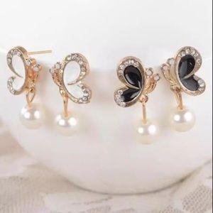 Butterfly 🦋 stud earrings